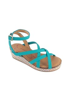 "Jessica Simpson Girls' ""Orleans"" Wedge Sandals"