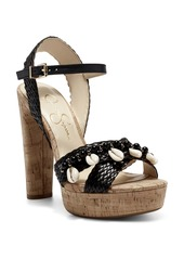 Jessica Simpson Ivriele Embellished Pump Sandal (Women)