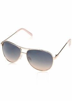 Jessica Simpson J106 Stylish Iconic UV Protective Metal Aviator Sunglasses | Wear All-Year | The Gift of Glam