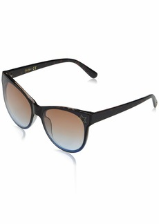 Jessica Simpson J5824 Cat-Eye Star Imprint UV Protective Sunglasses | Wear All-Year | The Gift of Glam