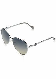 Jessica Simpson J5845 Metal Geometric Aviator UV Protective Sunglasses | Wear All-Year | The Gift of Glam