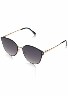 Jessica Simpson J5866 Metal Enamel Cat-Eye UV Protective Sunglasses | Wear All-Year | The Gift of Glam