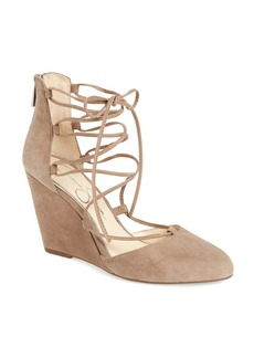 Jessica Simpson Jacee Lace-Up Wedge (Women)