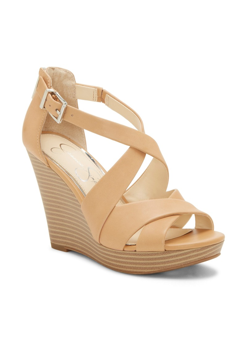 Jessica Simpson Jakayla Wedge Sandal (Women)