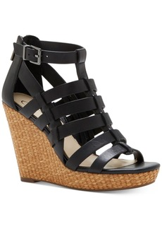 Jessica Simpson Jeyne Strappy Platform Wedge Sandals Women's Shoes