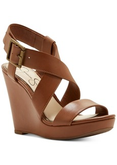 Jessica Simpson Joilet Platform Wedge Sandals Women's Shoes