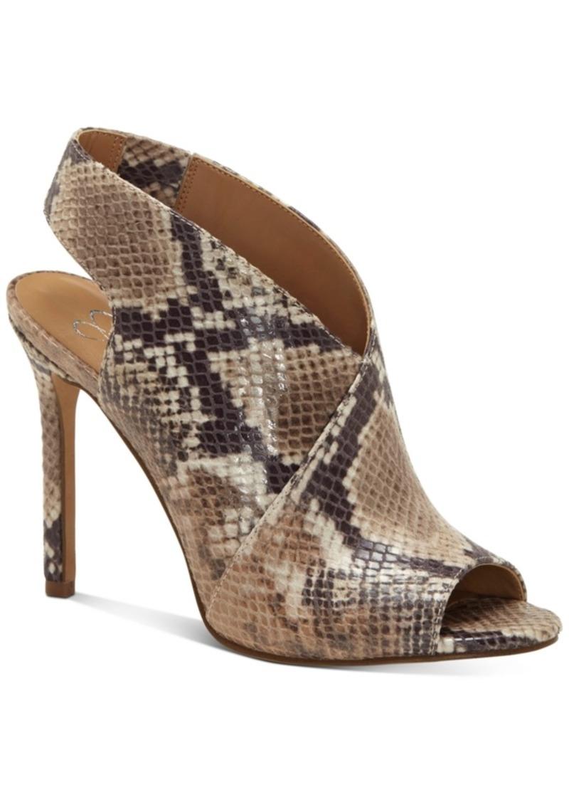 Jessica Simpson Jourie High-Heel Peep-Toe Shooties Women's Shoes