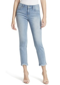 Jessica Simpson Junior Arrow Straight Ankle Jeans