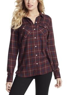 Jessica Simpson Petunia Plaid Shirt