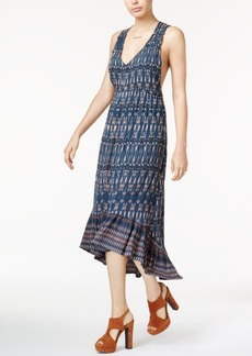 Jessica Simpson Juniors' Cotton Printed High-Low Dress