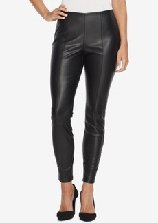 Jessica Simpson Juniors' Faux-Leather Skinny Pants