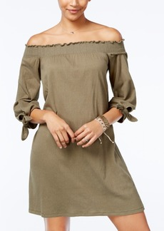 Jessica Simpson Juniors' Marlika Off-The-Shoulder Dress