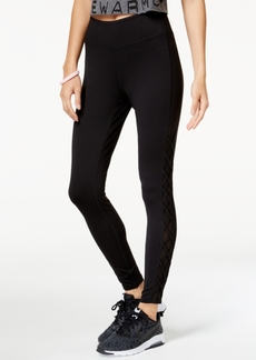 Jessica Simpson Juniors' Mesh-Inset Skinny Leggings