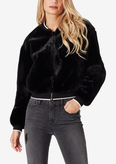 Jessica Simpson Juniors' Penny Faux-Fur Bomber Jacket