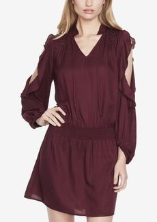 Jessica Simpson Juniors' Studded Cold-Shoulder Dress