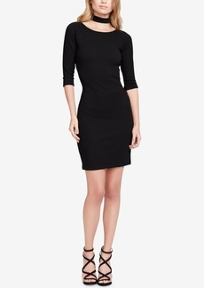Jessica Simpson Juniors' Tam Choker Bodycon Dress