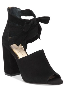 Jessica Simpson Kandiss Block-Heel Dress Sandals Women's Shoes