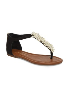 Jessica Simpson Kenton Crystal Embellished Sandal (Women)