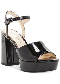 Jessica Simpson Kerrick Two-Piece Platform Sandals Women's Shoes