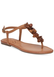 Jessica Simpson Kiandra Detailed Thong Flat Sandals Women's Shoes