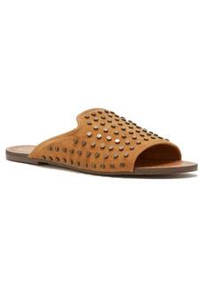 Jessica Simpson Kloe Metal-Studded Slide Sandals