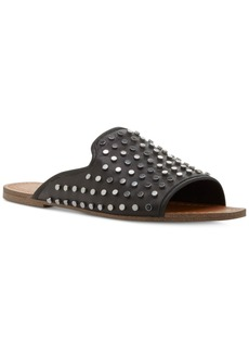 Jessica Simpson Kloe Nailhead Flat Slide Sandals Women's Shoes