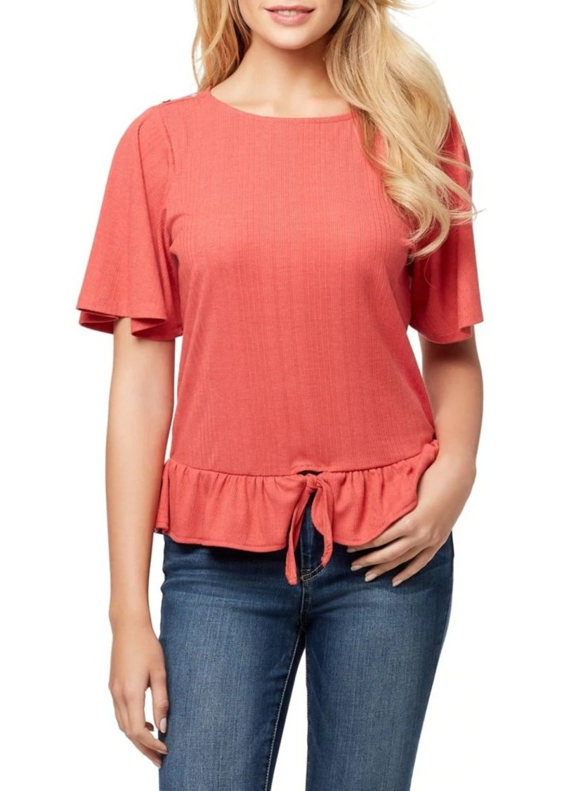 Jessica Simpson Kylie Front-Tie Top