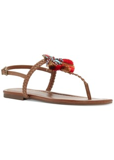 Jessica Simpson Kyran Braided Thong Flat Sandals Women's Shoes