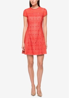 Jessica Simpson Lace A-Line Dress