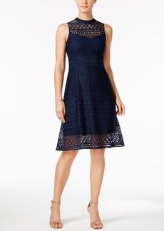 Jessica Simpson Lace Back-Cutout Dress