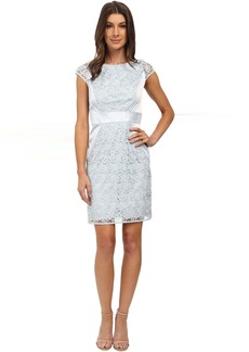 Jessica Simpson Lace Cap Sleeve Dress
