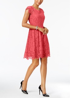 Jessica Simpson Lace Fit & Flare Dress