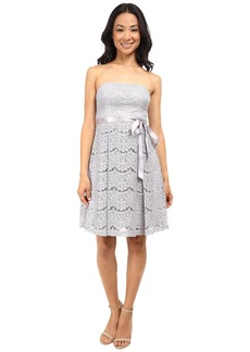 Jessica Simpson Lace Fit and Flare w/ Ribbon Detail