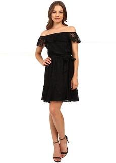 Jessica Simpson Lace Off the Shoulder Dress JS6D8622