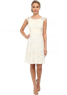 Jessica Simpson Lace Social Dress with Open Back