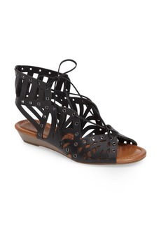 Jessica Simpson Lalaine Ghillie Lace Sandal (Women)