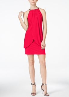 Jessica Simpson Layered Sheath Dress