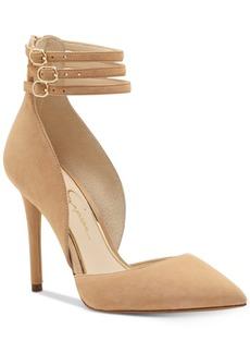 Jessica Simpson Linnee Triple Ankle-Strap Dress Heels Women's Shoes
