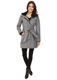 Jessica Simpson Long Softshell w/ Faux Fur Collar and Hood