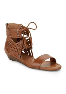 Jessica Simpson Lourra Woven Wedge Sandals