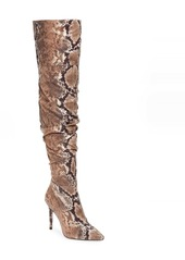 Jessica Simpson Lyrelle Pointy Toe Slouchy Knee High Boot (Women)