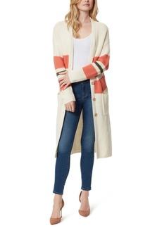 Jessica Simpson Marina Striped Longline Cardigan