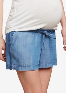 Jessica Simpson Maternity Chambray Shorts
