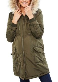Jessica Simpson Maternity Coat