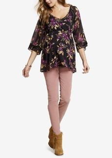 Jessica Simpson Maternity Corduroy Skinny Pants