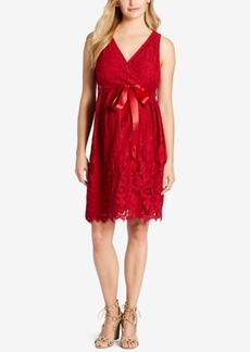 Jessica Simpson Maternity Lace A-Line Dress