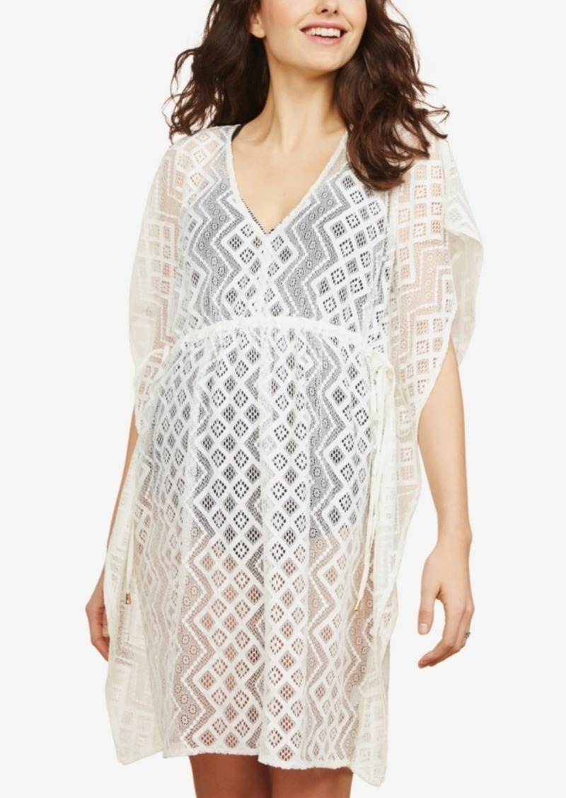 6afdde444cb61 Jessica Simpson Jessica Simpson Maternity Lace Swim Cover-Up   Swimwear