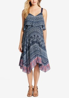 Jessica Simpson Maternity Printed Tiered Dress