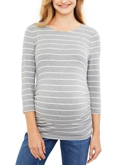 Jessica Simpson Maternity Ruched Top