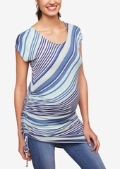 Jessica Simpson Maternity Ruched Tunic